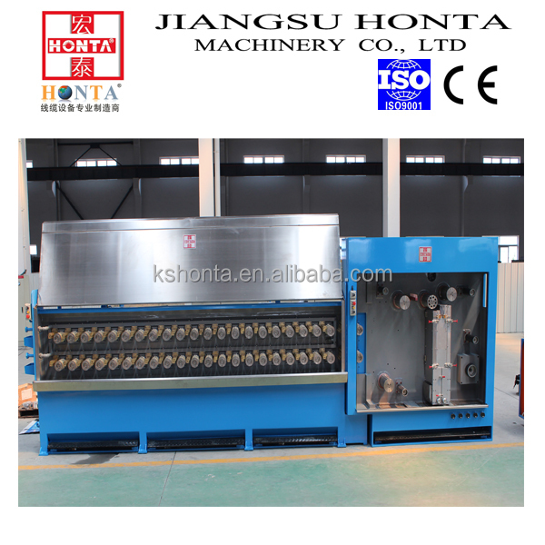 electrical cable manufacturing machine combined wire drawing machine equipment