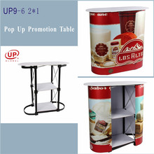 High quality factory price pop up promotion counter