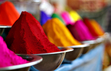 Powder made of food grade colored corn starch and cosmetic grade dyes,party favors holi powder