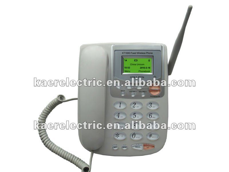 GSM fixed wireless telephone KT1000 (32) wireless phone with telephone line