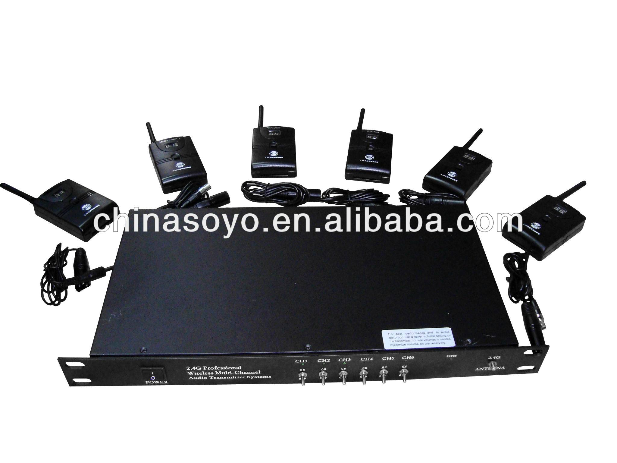 2.4G digital wireless bosch audio conference system
