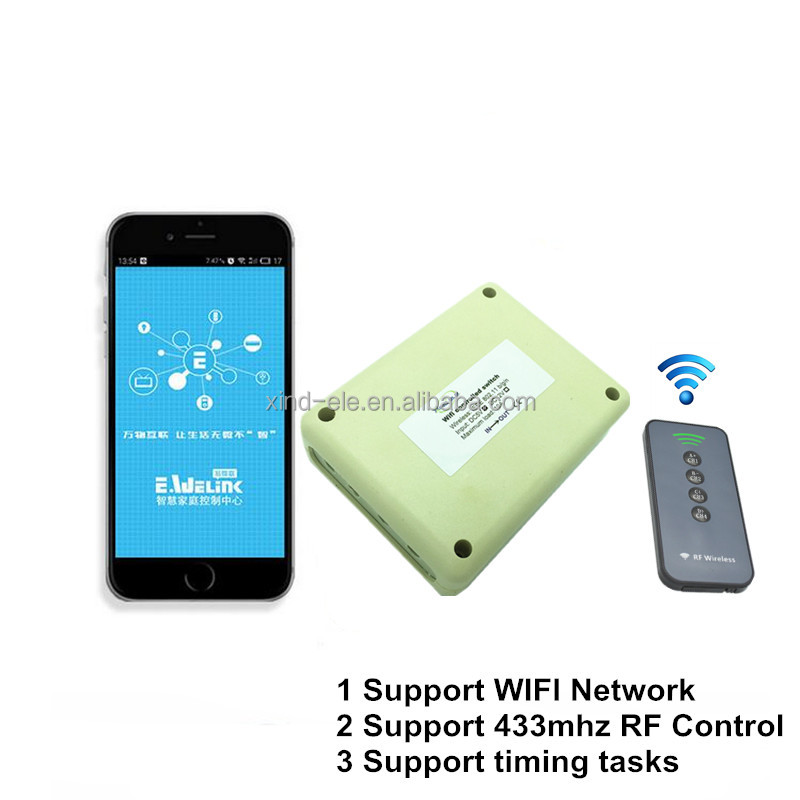 4CH 5V DC RF 433mhz Wireless Remote Control WIFI Light <strong>Switch</strong>