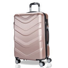 High quality ABS PC hard shell trolley suitcase travel luggage