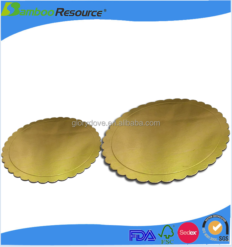 2016 China disposable cake boards paper tray