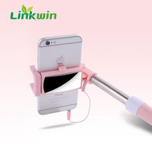 2018 trending hot products wireless selfie stick bluetooth self timer with extendable monopod