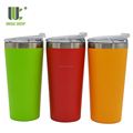 New Product 16oz Leakproof Vacuum Insulated Stainless Steel Beer Tumbler