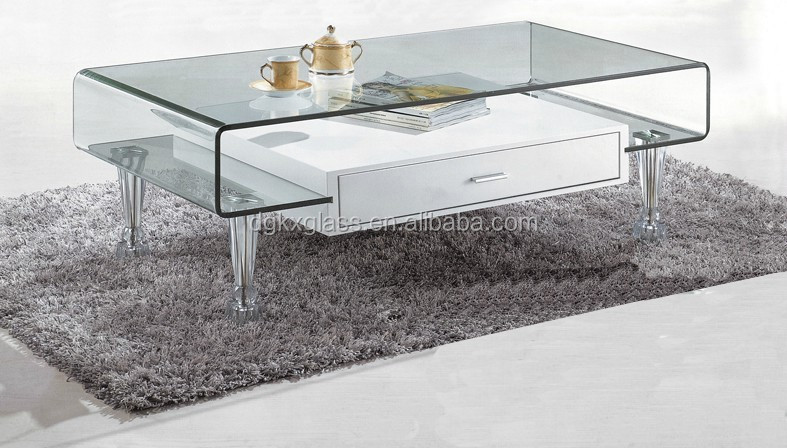 Modern curve flat round glass coffee table buy round marble table