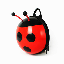 SUPERCUTE Cute Waterproof 3D Cartoon ladybug Toddler Kids Child Sidesick backpack baby <strong>safety</strong> anti lost strap for kids