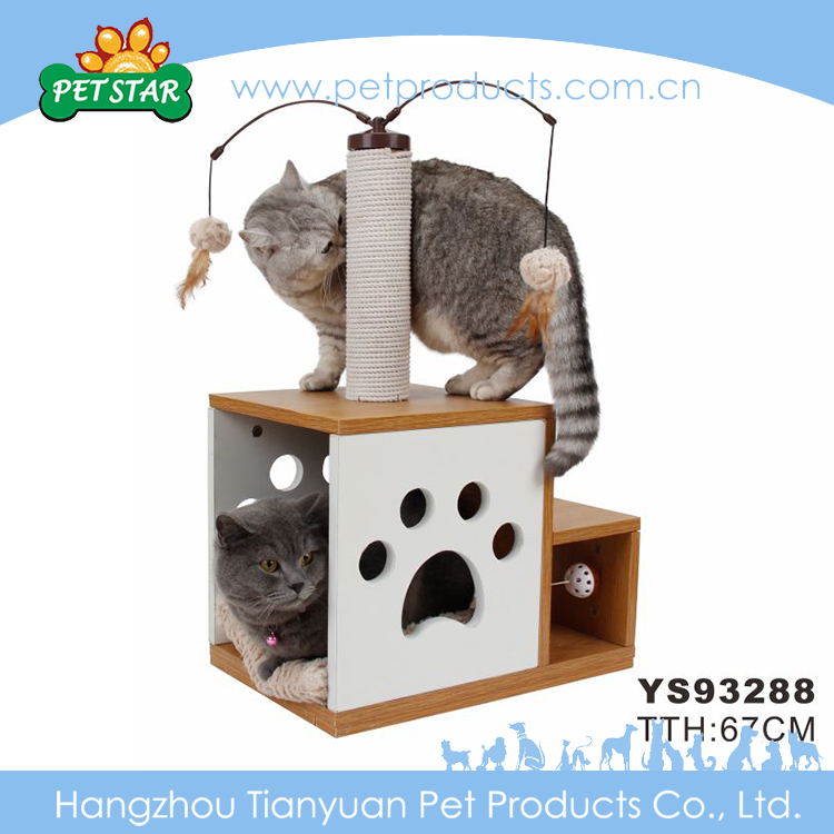 High-end Pet Products and Cats Application Cat Tree Scratching House