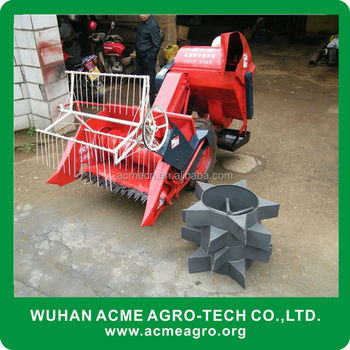 New type paddy light weight combine harvester with low price