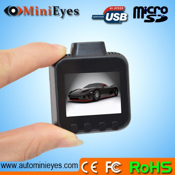 Smallest 1.5LTPS 120 A Grade Lens G-Sensor 1080P super Night vision cheapest 1080p car black box to korea