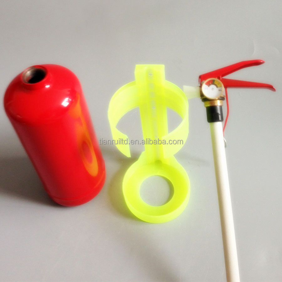 1Kg portable/car mini use empty ABC dry powder fire extinguisher without powder and gas pressure