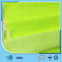 High visibility polyester cotton fluorescent fabric with EN20471 for jackets