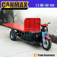 widely used in brick factory assisted electric rickshaw tricycle, tricycle with roof