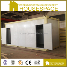 portable public toilet in container trailer for sale