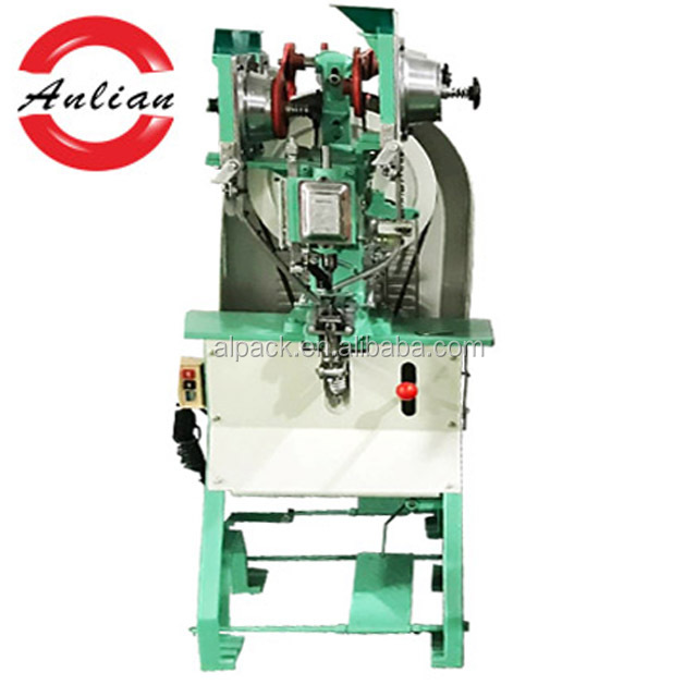 China supplier high quality paper shopping bag eyeleting punching machine
