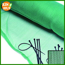 plastic knitted logo printed scaffold netting