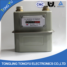 lpg gas meters g1.6 / g2.5 / g4 / g6 diaphragm gas meter