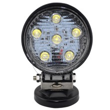 18w led work light for atv suv offroad truck 4x4 led spot flood driving motorcycle head light 24w 27w 12v