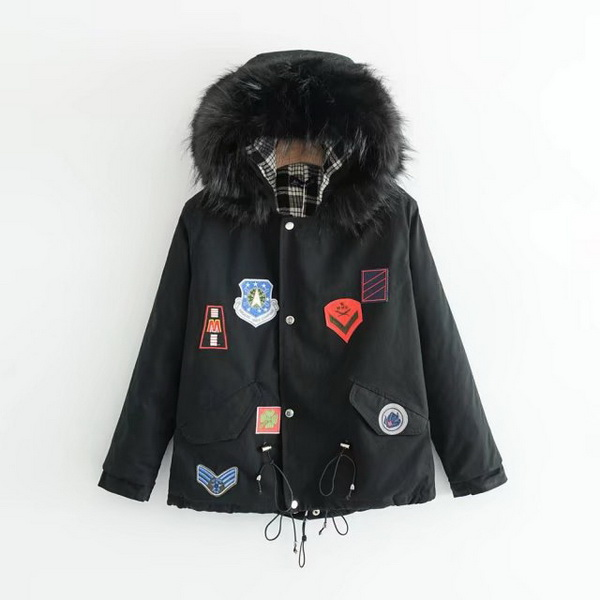 Cotton bomber jacket women wholesale jackets,light winter jacket women