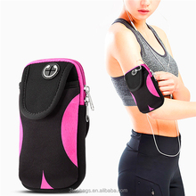 Mobile phone accessories Neoprene sport armband phone pouch