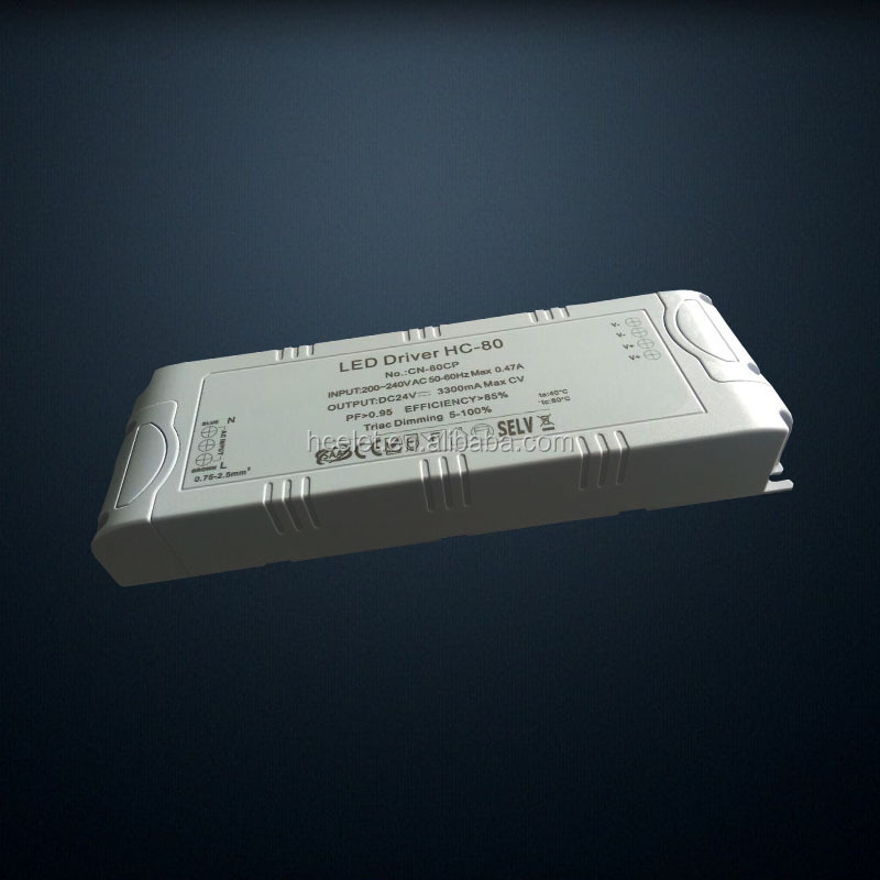 High quality CE CB SAA TUV approved 180-240VAC triac dimming 70w led driver