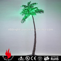 Glass shell and certification indoor decoration led tree lighting