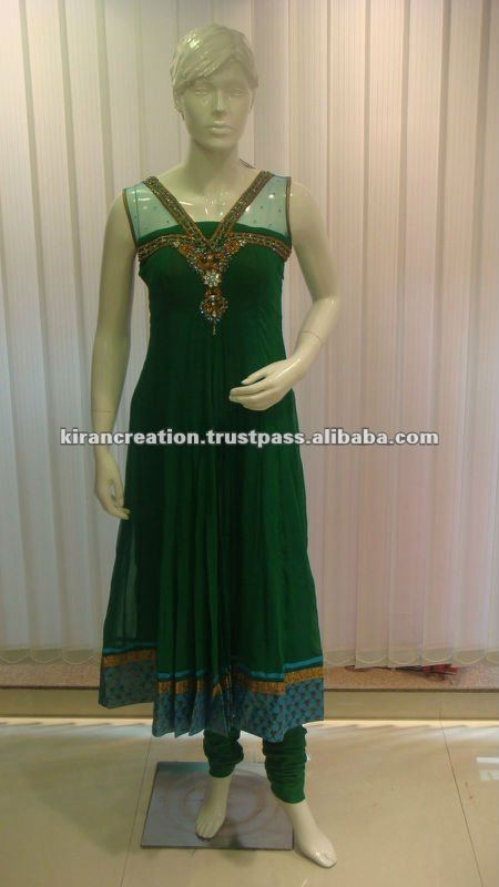 Indian Net salwar suit design