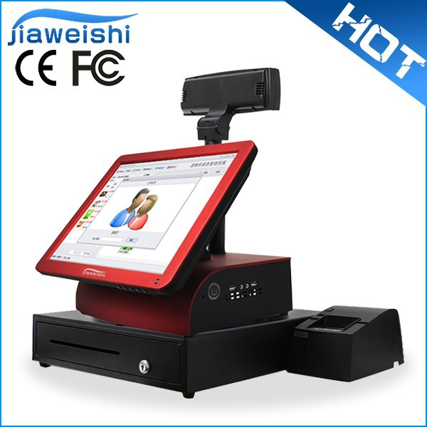 Pizza Restaurant 15'' All in One Touch Screen POS Systems