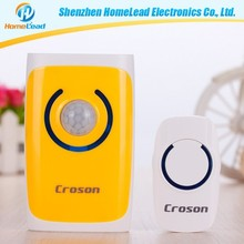 Working voltage 3.2V-5.5V Induction Alarm wireless doorbell