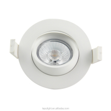 360deg Tilt GYRO Dim to Warm LED Downlight 2000-2800k Cutout 83mm IP44 95Ra