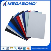 Megabond CE Standard PE/PVDF external wall cladding,aluminium cladding sheet prices