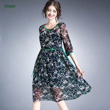 Wholesale cheap price digital print Chinese green leaves silk chiffon fabric