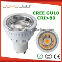 led lamp indoor 7w 2700k gu10 led dimmable cree cob led spotlight 6w 8w 9w led bulb