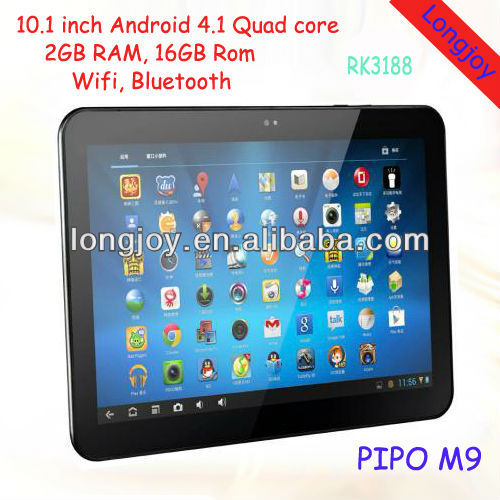 10.1 inch PIPO M9 2GB RAM Quad Core Android tablet pc