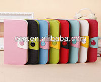New PU Wallet Leather Flip Case Cover for Samsung Galaxy S 4 IV S4 i9500