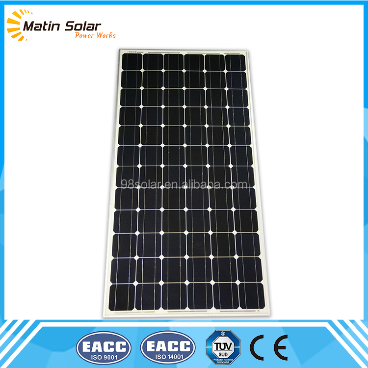 China cheapest broken power bank 300W monocrystalline solar panel for sale