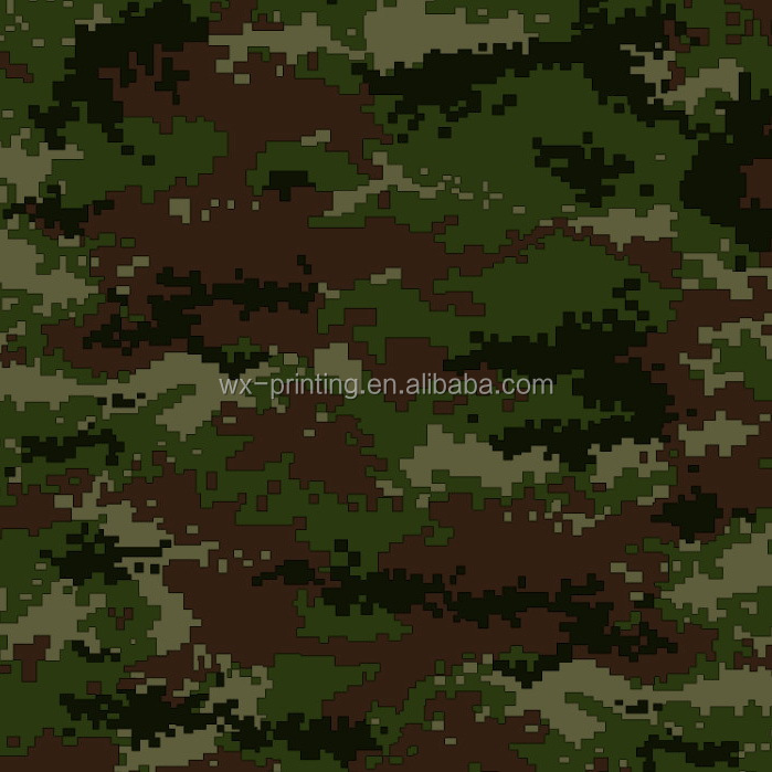 poly cotton fabric camouflage sublimation transfer printing paper 160cm