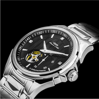 High quality sapphire crystal mechanical automatic watch