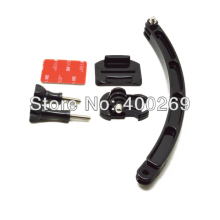 The Arm with Mounts and Screws for Helmet for Go Pro Heros 6/5/4/3+/3 YI SJ GP79
