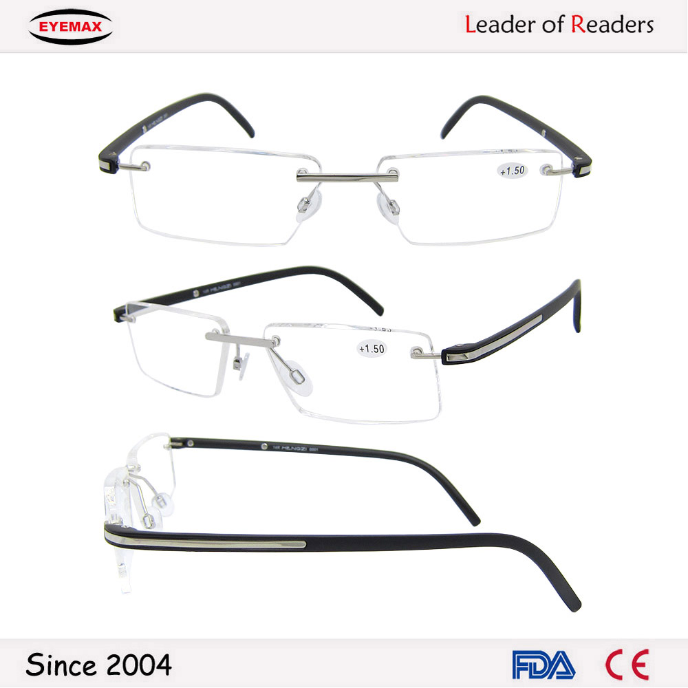 High quality rimless reading glasses for Italy with low price