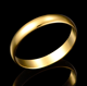 New Arrival Delicate Polished Men Low Prices Gold Ring Wholesale