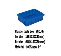 Tool Box NO.6 Plastic box (Multi-purpose)
