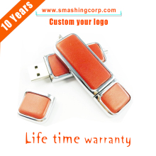 hot sale factory price OEM promotional gift metal key usb, leather keychain key usb flash drive,usb key with your logo
