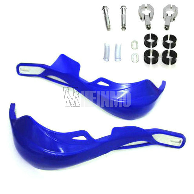 Blue Handguards Hand Guard With Clamps For Yamaha YZ80 YZ85 YZ125 YZ250 YZ250F YZ400F YZ426F