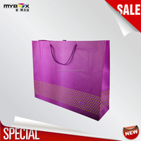 Foldable accept custom made luxury brand bags handbag 2016 online shopping large capacity paperbag