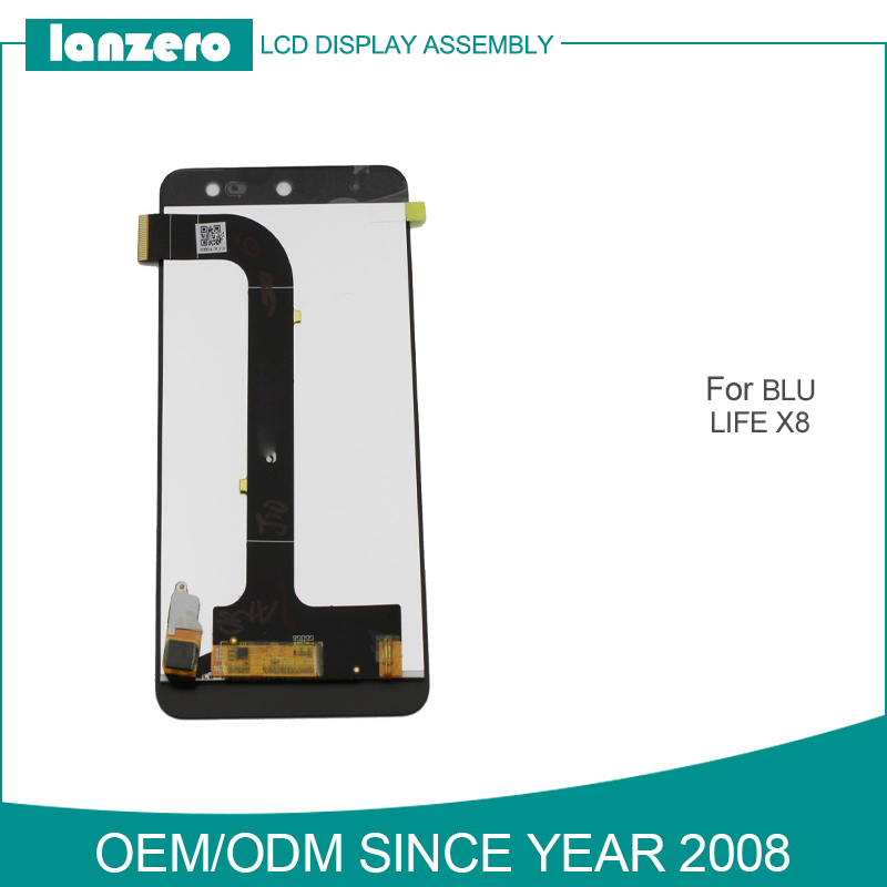 Cell Phone LCD for BLU Life X8 Touch Screen Digitizer Replacement LCD Screen