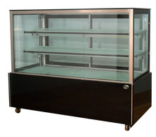 APEX straight stand movable cake fridge display cabinet