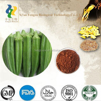 2015 new man product okra extract,pure nature okra extract powder
