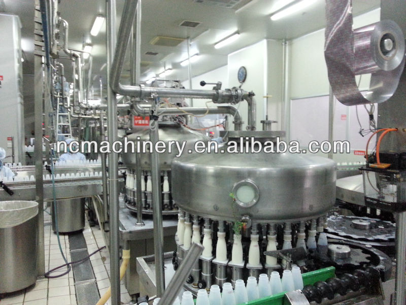 Flavored milk processing plant